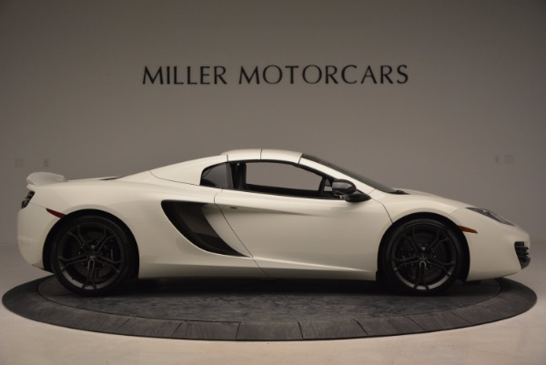 Used 2014 McLaren MP4-12C Spider for sale Sold at Aston Martin of Greenwich in Greenwich CT 06830 19