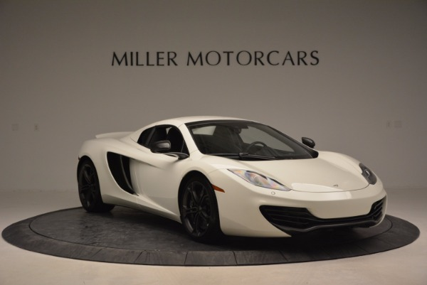 Used 2014 McLaren MP4-12C Spider for sale Sold at Aston Martin of Greenwich in Greenwich CT 06830 20