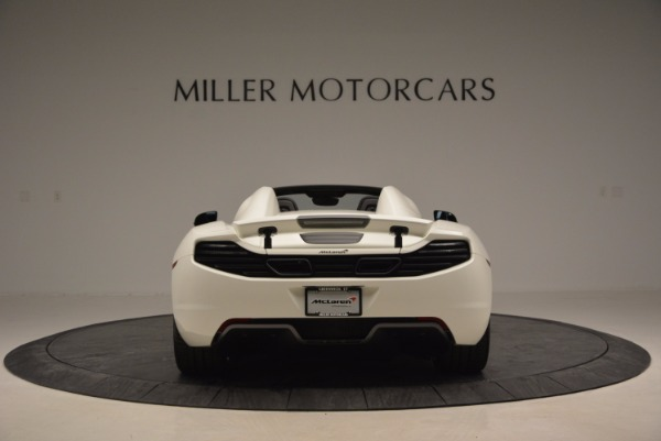 Used 2014 McLaren MP4-12C Spider for sale Sold at Aston Martin of Greenwich in Greenwich CT 06830 6
