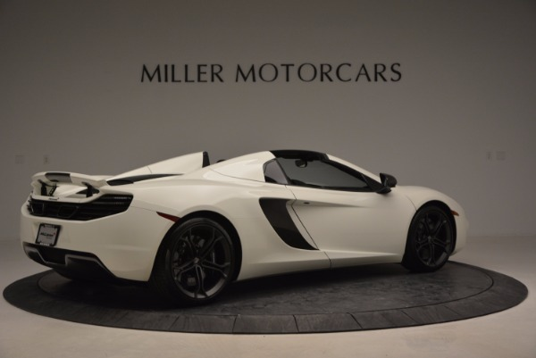 Used 2014 McLaren MP4-12C Spider for sale Sold at Aston Martin of Greenwich in Greenwich CT 06830 8