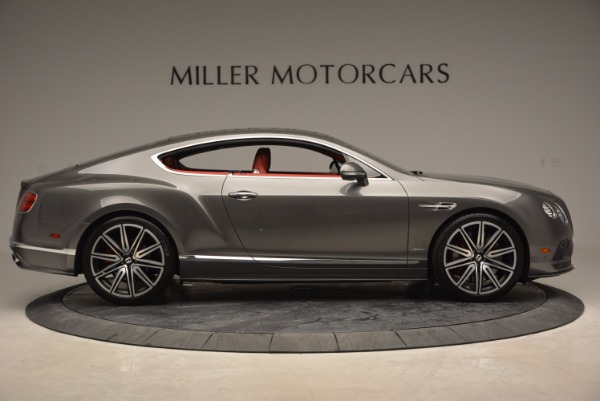 Used 2016 Bentley Continental GT Speed for sale Sold at Aston Martin of Greenwich in Greenwich CT 06830 9