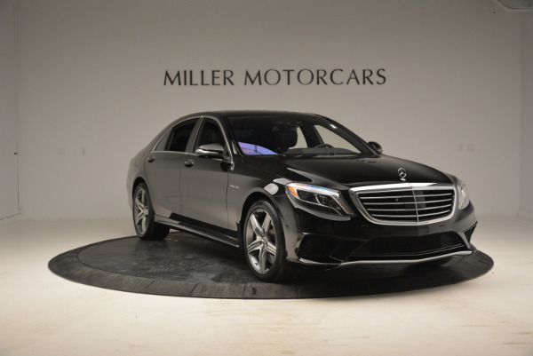 Used 2014 Mercedes Benz S-Class S 63 AMG for sale Sold at Aston Martin of Greenwich in Greenwich CT 06830 11