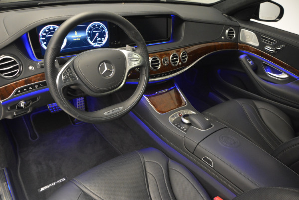 Used 2014 Mercedes Benz S-Class S 63 AMG for sale Sold at Aston Martin of Greenwich in Greenwich CT 06830 17