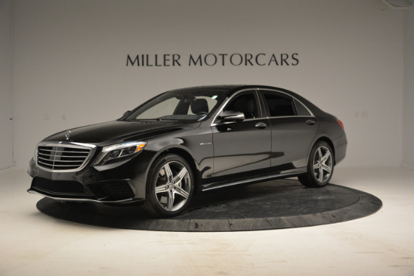 Used 2014 Mercedes Benz S-Class S 63 AMG for sale Sold at Aston Martin of Greenwich in Greenwich CT 06830 2