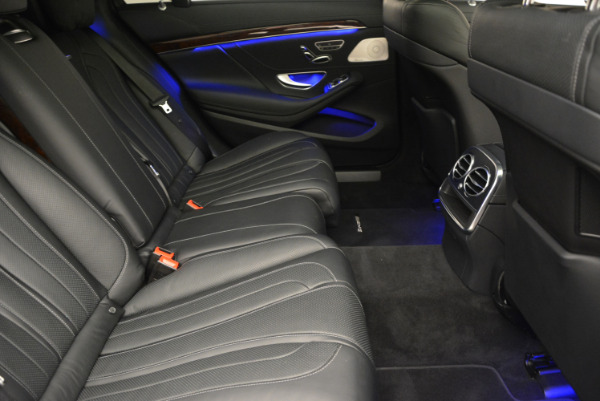 Used 2014 Mercedes Benz S-Class S 63 AMG for sale Sold at Aston Martin of Greenwich in Greenwich CT 06830 27