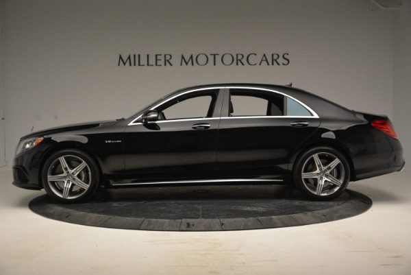 Used 2014 Mercedes Benz S-Class S 63 AMG for sale Sold at Aston Martin of Greenwich in Greenwich CT 06830 3