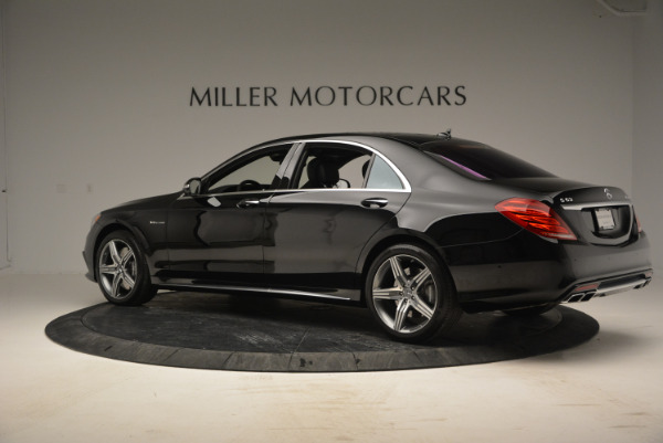 Used 2014 Mercedes Benz S-Class S 63 AMG for sale Sold at Aston Martin of Greenwich in Greenwich CT 06830 4