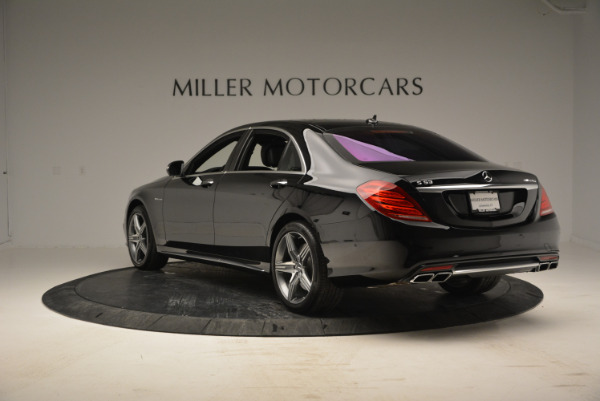 Used 2014 Mercedes Benz S-Class S 63 AMG for sale Sold at Aston Martin of Greenwich in Greenwich CT 06830 5
