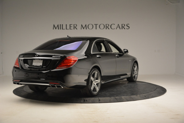 Used 2014 Mercedes Benz S-Class S 63 AMG for sale Sold at Aston Martin of Greenwich in Greenwich CT 06830 7