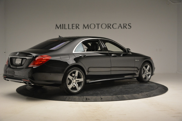 Used 2014 Mercedes Benz S-Class S 63 AMG for sale Sold at Aston Martin of Greenwich in Greenwich CT 06830 8