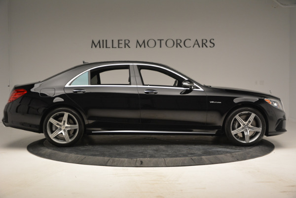 Used 2014 Mercedes Benz S-Class S 63 AMG for sale Sold at Aston Martin of Greenwich in Greenwich CT 06830 9