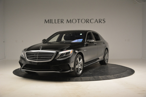 Used 2014 Mercedes Benz S-Class S 63 AMG for sale Sold at Aston Martin of Greenwich in Greenwich CT 06830 1