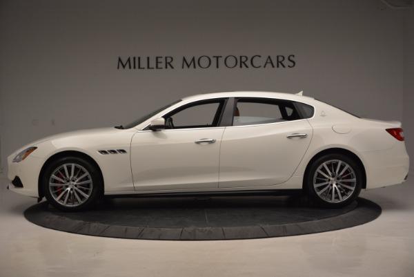 New 2017 Maserati Quattroporte SQ4 for sale Sold at Aston Martin of Greenwich in Greenwich CT 06830 3