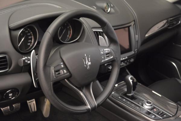 New 2017 Maserati Levante S for sale Sold at Aston Martin of Greenwich in Greenwich CT 06830 11
