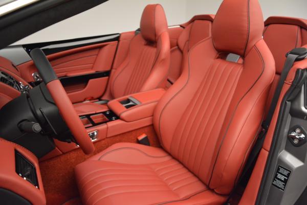 New 2016 Aston Martin DB9 GT Volante for sale Sold at Aston Martin of Greenwich in Greenwich CT 06830 21