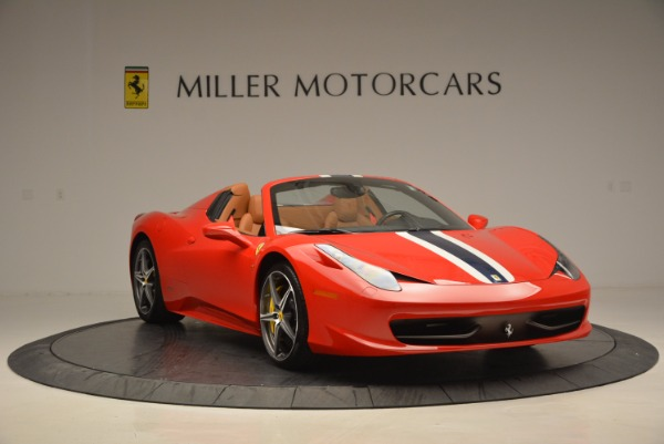 Used 2014 Ferrari 458 Spider for sale Sold at Aston Martin of Greenwich in Greenwich CT 06830 11