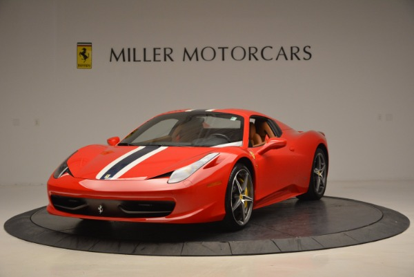 Used 2014 Ferrari 458 Spider for sale Sold at Aston Martin of Greenwich in Greenwich CT 06830 13