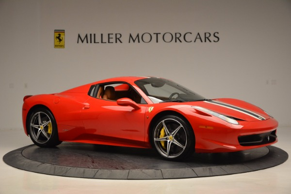Used 2014 Ferrari 458 Spider for sale Sold at Aston Martin of Greenwich in Greenwich CT 06830 22