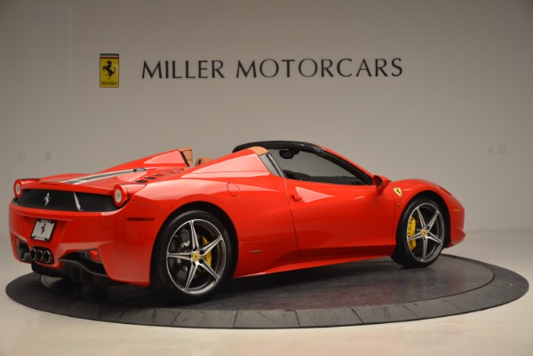 Used 2014 Ferrari 458 Spider for sale Sold at Aston Martin of Greenwich in Greenwich CT 06830 8