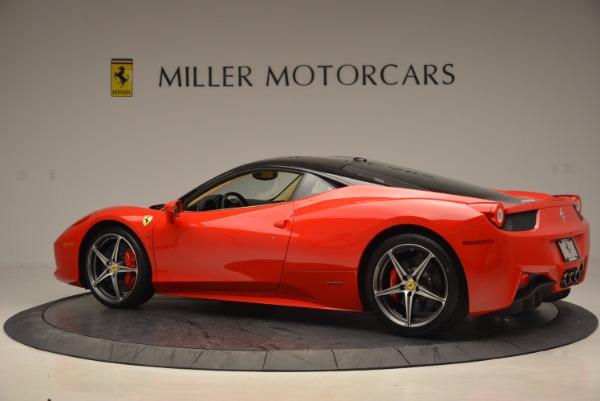 Used 2011 Ferrari 458 Italia for sale Sold at Aston Martin of Greenwich in Greenwich CT 06830 4