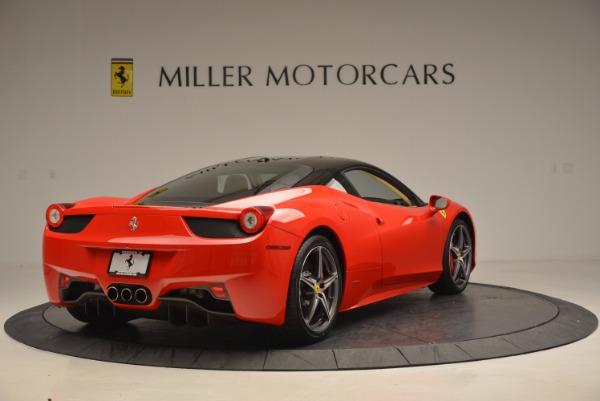 Used 2011 Ferrari 458 Italia for sale Sold at Aston Martin of Greenwich in Greenwich CT 06830 7