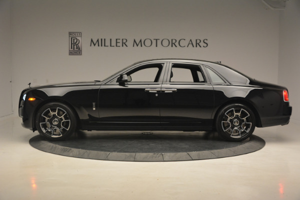 New 2017 Rolls-Royce Ghost Black Badge for sale Sold at Aston Martin of Greenwich in Greenwich CT 06830 3