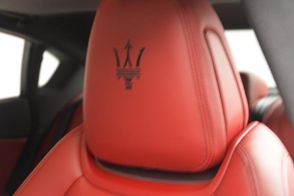 New 2017 Maserati Quattroporte S Q4 GranSport for sale Sold at Aston Martin of Greenwich in Greenwich CT 06830 16