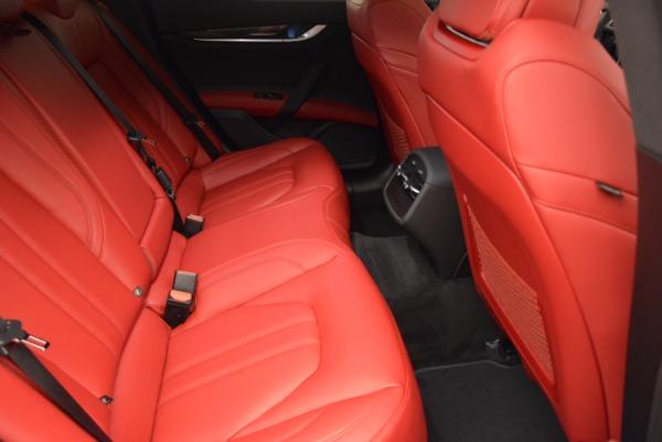 New 2017 Maserati Ghibli SQ4 for sale Sold at Aston Martin of Greenwich in Greenwich CT 06830 26
