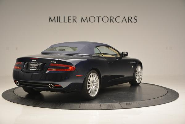 Used 2007 Aston Martin DB9 Volante for sale Sold at Aston Martin of Greenwich in Greenwich CT 06830 19