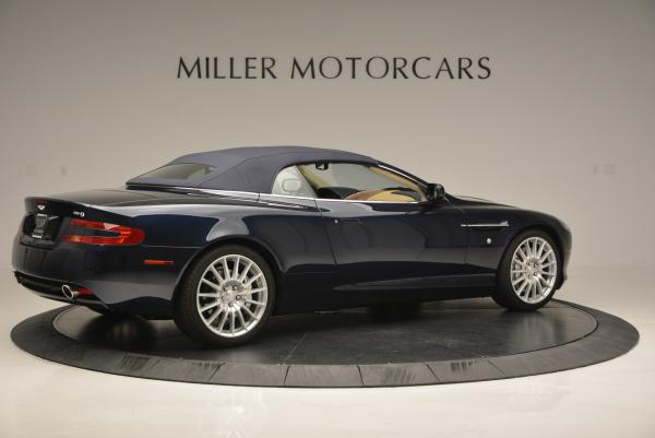 Used 2007 Aston Martin DB9 Volante for sale Sold at Aston Martin of Greenwich in Greenwich CT 06830 20
