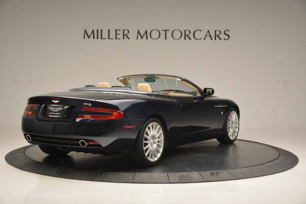 Used 2007 Aston Martin DB9 Volante for sale Sold at Aston Martin of Greenwich in Greenwich CT 06830 7