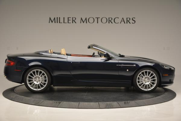 Used 2007 Aston Martin DB9 Volante for sale Sold at Aston Martin of Greenwich in Greenwich CT 06830 9