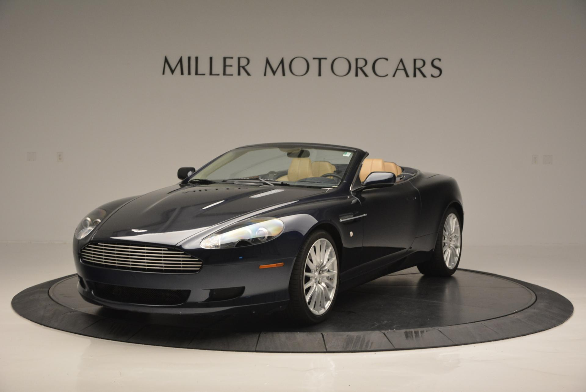 Used 2007 Aston Martin DB9 Volante for sale Sold at Aston Martin of Greenwich in Greenwich CT 06830 1