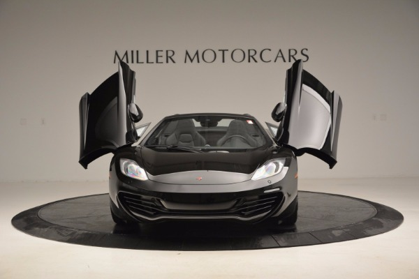 Used 2013 McLaren 12C Spider for sale Sold at Aston Martin of Greenwich in Greenwich CT 06830 13