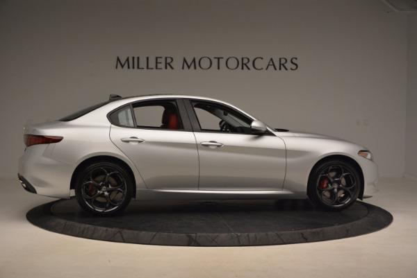 New 2017 Alfa Romeo Giulia Ti Q4 for sale Sold at Aston Martin of Greenwich in Greenwich CT 06830 11