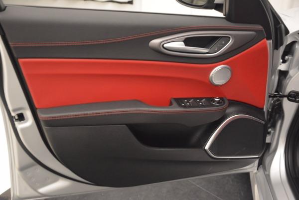 New 2017 Alfa Romeo Giulia Ti Q4 for sale Sold at Aston Martin of Greenwich in Greenwich CT 06830 23