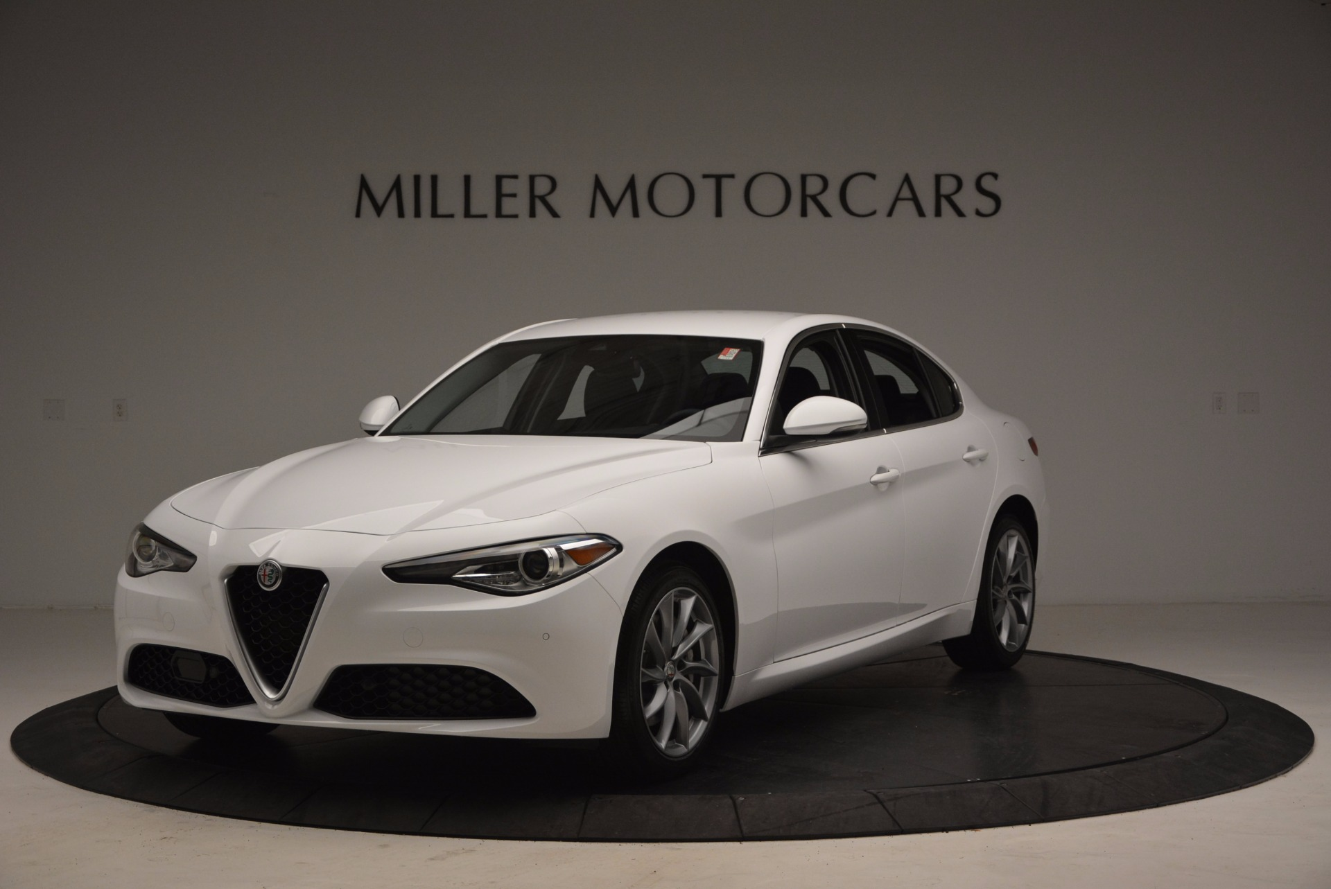 New 2017 Alfa Romeo Giulia Q4 for sale Sold at Aston Martin of Greenwich in Greenwich CT 06830 1