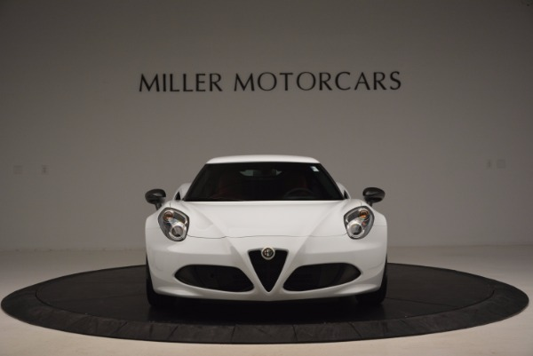 New 2016 Alfa Romeo 4C Coupe for sale Sold at Aston Martin of Greenwich in Greenwich CT 06830 12