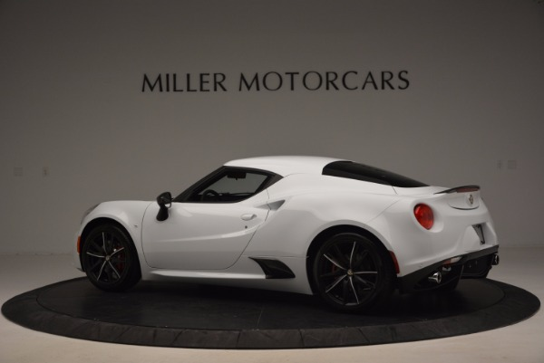 New 2016 Alfa Romeo 4C Coupe for sale Sold at Aston Martin of Greenwich in Greenwich CT 06830 4