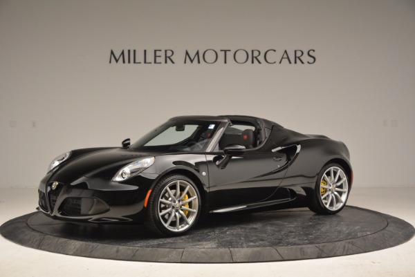 New 2016 Alfa Romeo 4C Spider for sale Sold at Aston Martin of Greenwich in Greenwich CT 06830 2