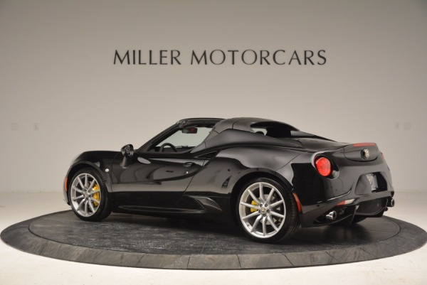 New 2016 Alfa Romeo 4C Spider for sale Sold at Aston Martin of Greenwich in Greenwich CT 06830 4