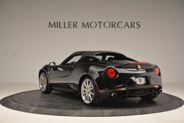 New 2016 Alfa Romeo 4C Spider for sale Sold at Aston Martin of Greenwich in Greenwich CT 06830 5