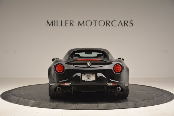New 2016 Alfa Romeo 4C Spider for sale Sold at Aston Martin of Greenwich in Greenwich CT 06830 6