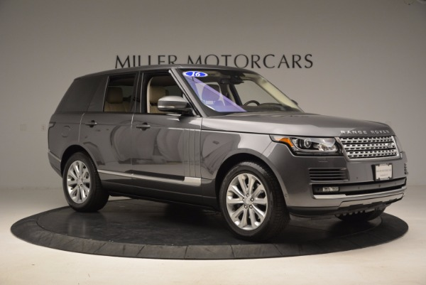 Used 2016 Land Rover Range Rover HSE TD6 for sale Sold at Aston Martin of Greenwich in Greenwich CT 06830 10