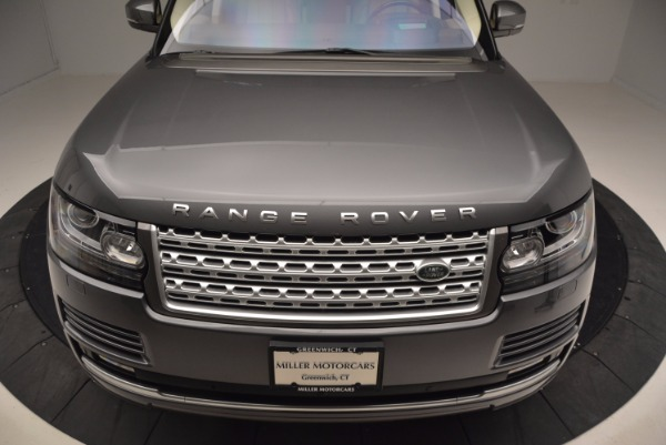 Used 2016 Land Rover Range Rover HSE TD6 for sale Sold at Aston Martin of Greenwich in Greenwich CT 06830 13