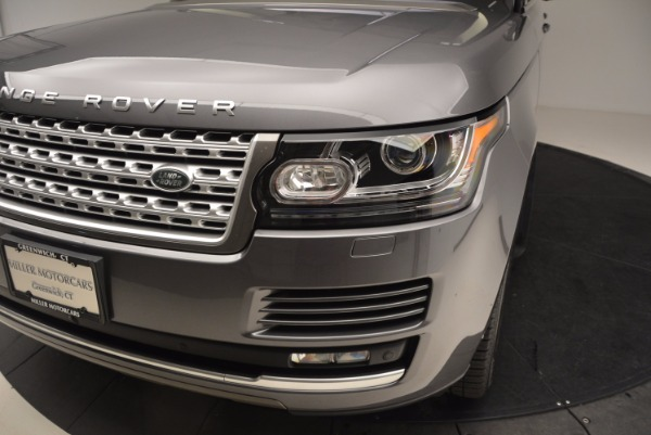Used 2016 Land Rover Range Rover HSE TD6 for sale Sold at Aston Martin of Greenwich in Greenwich CT 06830 14