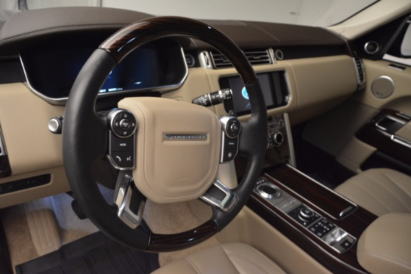 Used 2016 Land Rover Range Rover HSE TD6 for sale Sold at Aston Martin of Greenwich in Greenwich CT 06830 19