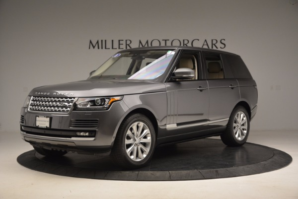 Used 2016 Land Rover Range Rover HSE TD6 for sale Sold at Aston Martin of Greenwich in Greenwich CT 06830 2