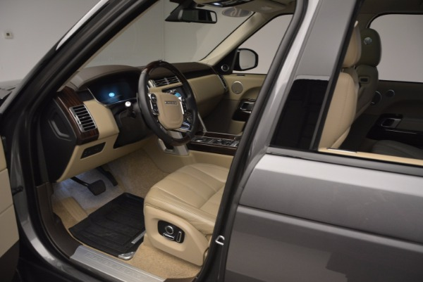 Used 2016 Land Rover Range Rover HSE TD6 for sale Sold at Aston Martin of Greenwich in Greenwich CT 06830 21
