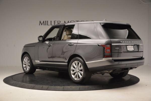 Used 2016 Land Rover Range Rover HSE TD6 for sale Sold at Aston Martin of Greenwich in Greenwich CT 06830 4
